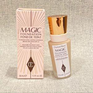 Like new* Charlotte Tilbury magic foundation